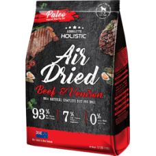 Absolute Holistic DOG FOOD Air Dried Dog Diet - Beef & Venison 1kg
