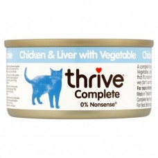 Thrive Complete Cat Chicken & Liver w/ Veg Wet 75G