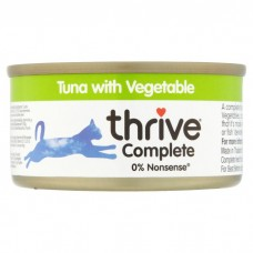 Thrive Complete Cat Tuna w/ Vegetable Wet Food 75G
