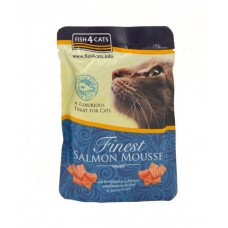 Fish4Cats Finest Salmon Mousse for Cats 100G CAT ITEMS CAT TREATS