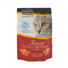 Fish4Cats Finest Trout Mousse for Cats 100G