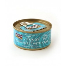 Fish4Cats Tuna Fillet with Crab Wet Food 70G