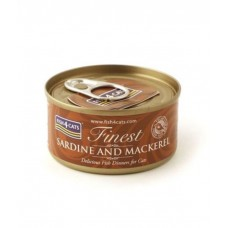 Fish4Cats Sardine with Mackerel Wet Food 70G