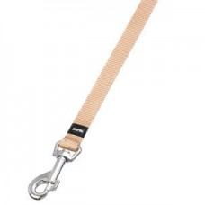 Flamingo Art Sportiv Nylon Leash BEIGE 15MM dog items dog leash