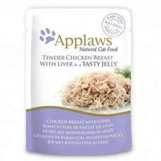 Applaws Cat Chicken with Liver Jelly Pouch 70G