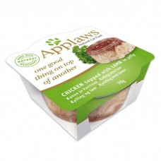 Applaws Cat Chicken with Lamb in Jelly Layer 70G