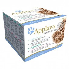 Applaws Cat Fish Collection 12 x 70g Tins