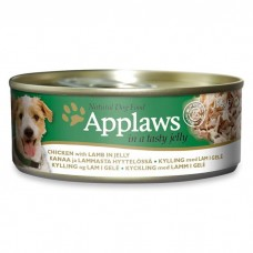 Applaws Dog Chicken with Lamb in Jelly 156g Tin