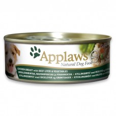 Applaws Dog Chicken with Beef Tin 156G