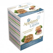 Applaws Cat Layer Mixed Multipack 6 x 70g Layer