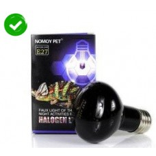 Kakei NOMOY PET FAUX LIGHT OF THE MOON NIGHT ACTIVITIES for reptiles amphibians Halogen light E27 75W