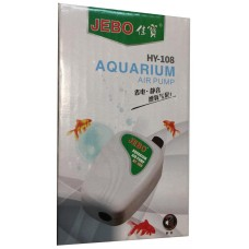 JEBO HY-108 aquarium air pump fish tank oxygen pump electrical Aquarium Air Pump oxygen supplies