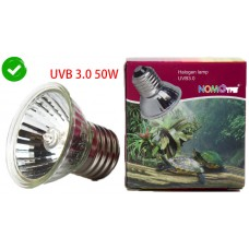 Kakei NOMOY PET heat lamp bulb for turtle reptile basking amphibian lizard UV lighting Halogen lamp UVB3.0 50W