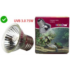 Kakei NOMOY PET heat lamp bulb for turtle reptile basking amphibian lizard UV lighting Halogen lamp UVB3.0 75W