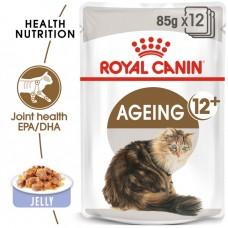 FELINE HEALTH NUTRITION AGEING +12 JELLY (WET FOOD - POUCHES) 85G*12