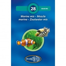 3F & RUTO  FROZEN MARINE MIX BLISTER 95G Fish Food