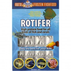 3F & RUTO FROZEN ROTIFER BLISTER 100 G FISH FOOD