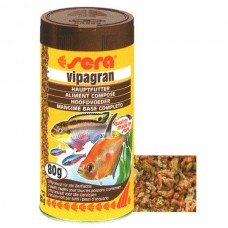SERA FISH ITEMS FISH FOOD FLAKES PELLETS STICKS FOOD VIPAGRAN-100 ML