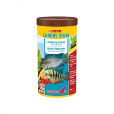 SERA fish items fish food CICHLIDS STICKS food -1000 ML