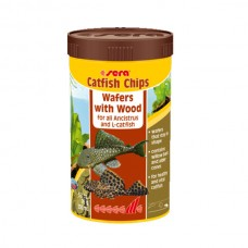 SERA FISH ITEMS FISH FOOD CATFISH CHIPS-250 ML