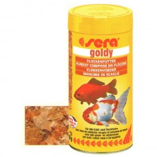 SERA FISH ITEMS FISH FOOD FLAKES FOOD GOLDY 100 ML