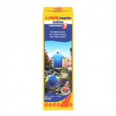 SERA  FISH ITEMS FISH TANK AQUARIUM MARIN COMPONENT IODINE-50 ML