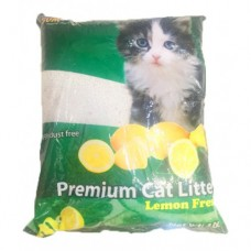 SUM CAT PREMIUM CAT LITTER LEMON FRESH 10L clumping