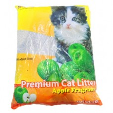 SUM CAT PREMIUM CAT LITTER APPLE FRAGRANCE 10L clumping