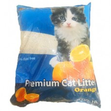 SUM CAT PREMIUM CAT LITTER ORANGE 10L clumping
