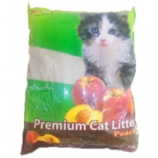 SUM CAT PREMIUM CAT LITTER PEACH 10L clumping